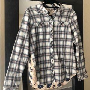New Cabi Flannel Shirt